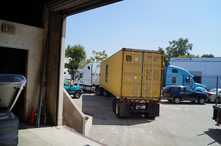 40 foot container with medical equipment