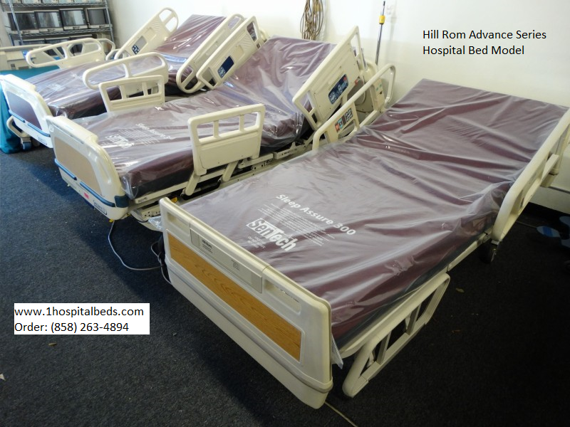 Used refurbished Hill Rom Advance Series hospital bed for sale 858-263-4894