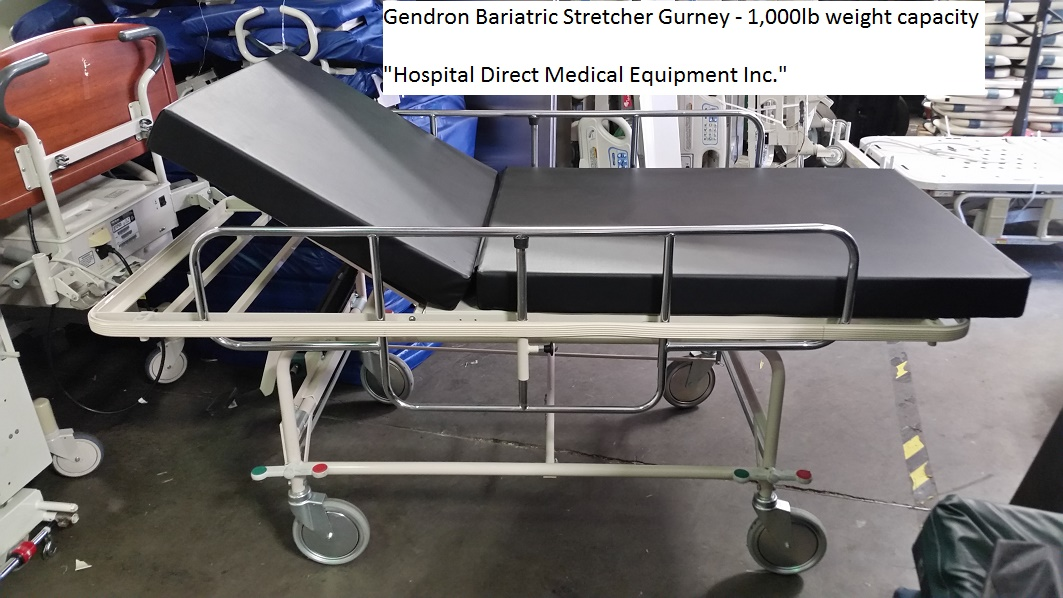 Gendron Bariatric Hospital Stretcher for sale 858-263-4894