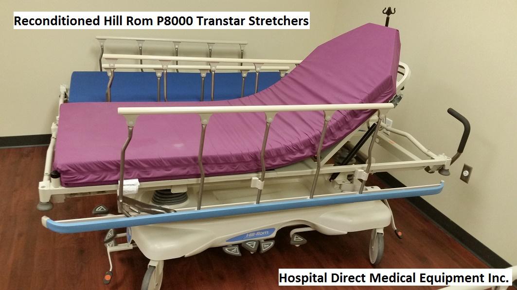 Hill Rom P8000 Transtar Gurney Stretcher for sale