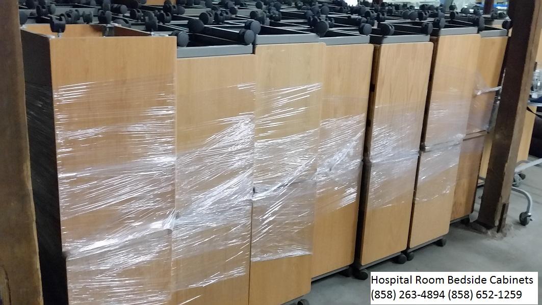 Hospital room bedside cabinets (858) 263-4894