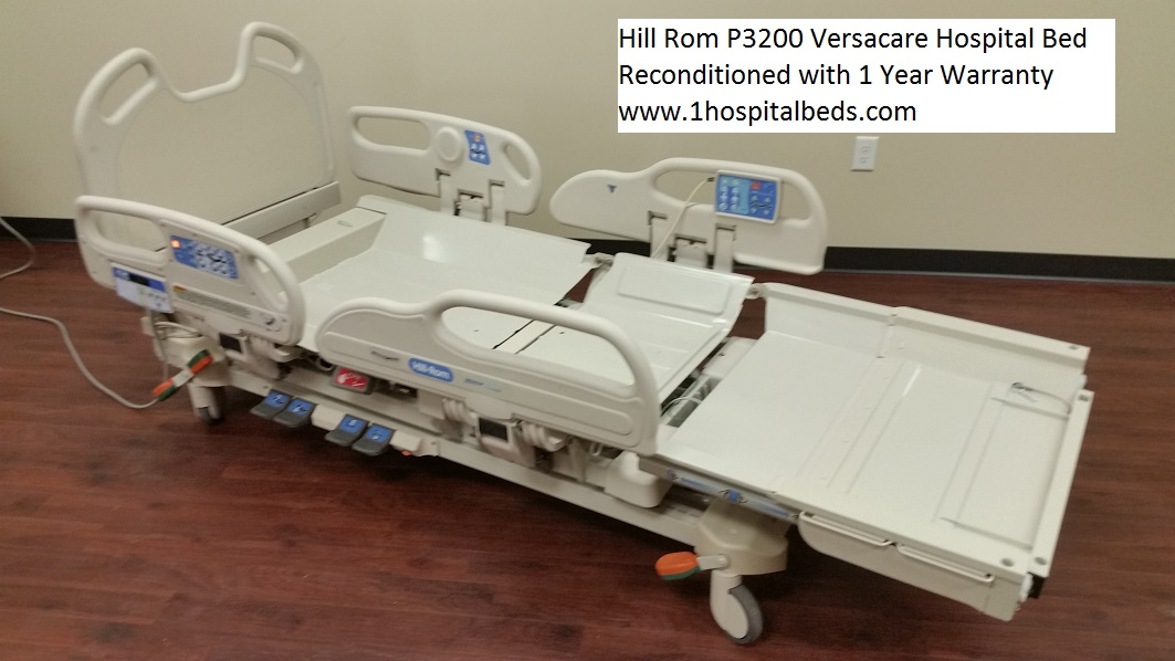Hill Rom P3200 Versacare Hospital Bed refurbished reconditioned