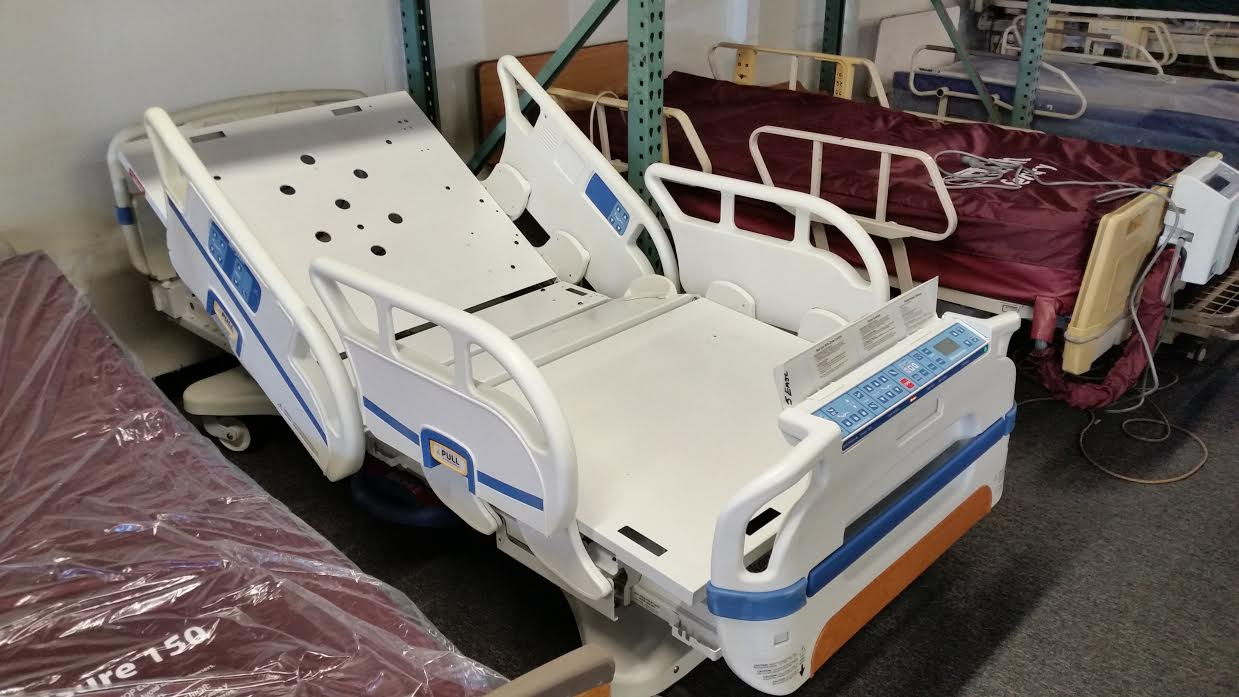 Stryker Secure 3 (S3) medsurg hospital beds for sale