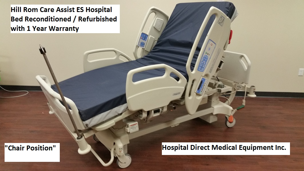 Hill Rom CareAssist ES Hospital Bed Reconditioned Refurbished 2