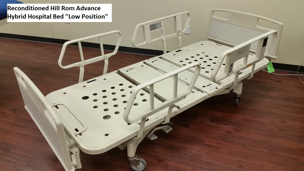 Reconditioned Hill Rom Advance Series Hospital Bed