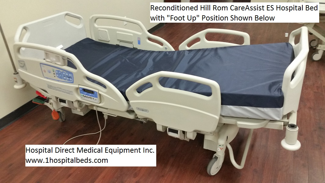 Reconditioned Hill Rom CareAssist ES hospital bed for sale