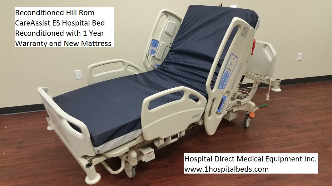 Reconditioned Hill Rom CareAssist ES hospital beds for sale 1