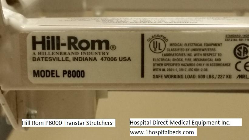 Hill Rom P8000 Procedural Transport Stretcher