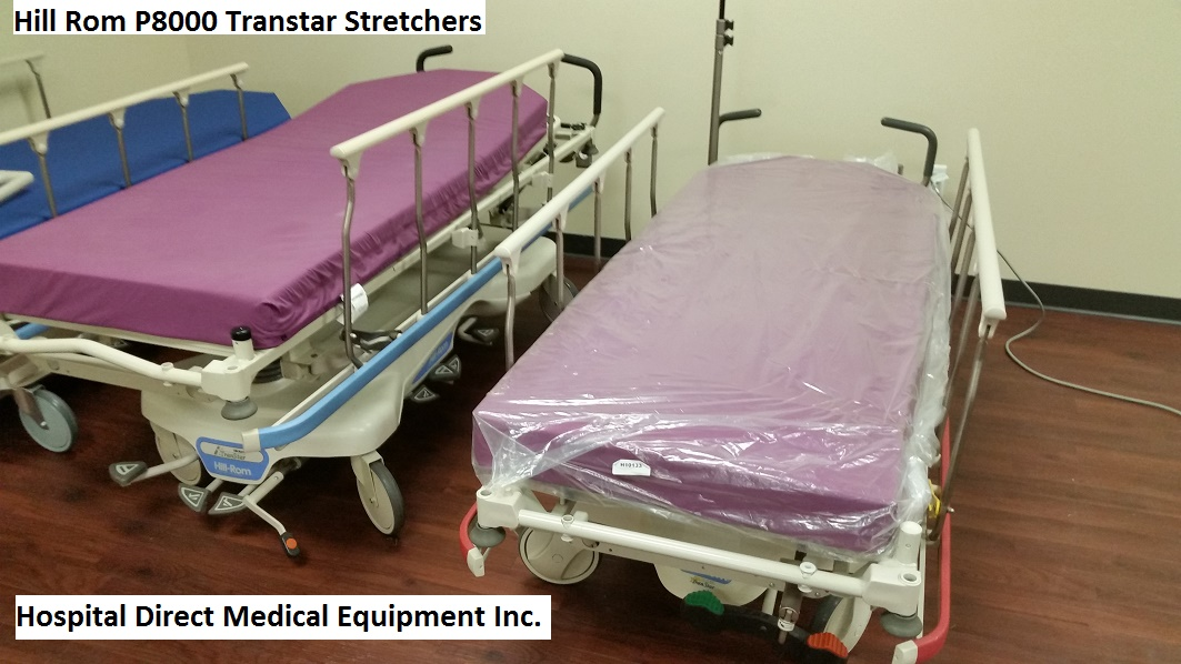 Hill Rom P8000 Transtar Stretchers for sale refurbished