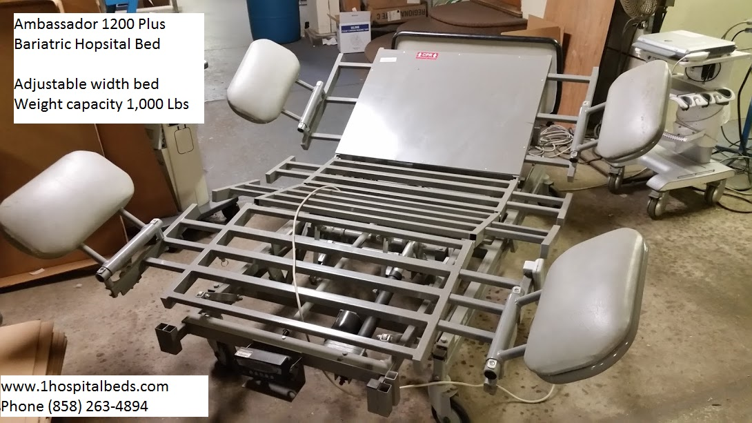 Ambassador 1200 Bariatric Hospital Bed for sale 4