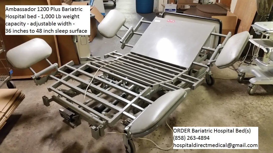 Ambassador 1200 Bariatric Hospital Bed for sale 5