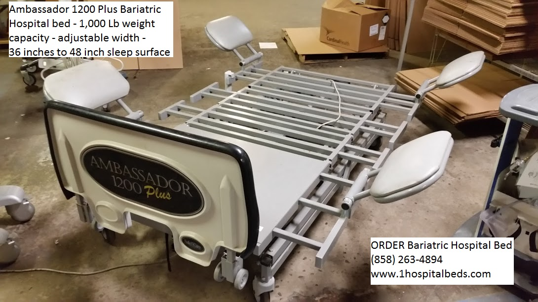 Ambassador 1200 Bariatric Hospital Bed for sale 6