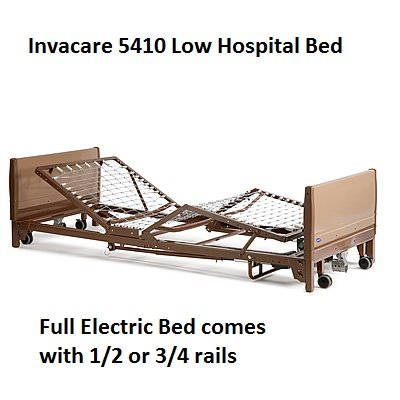 Invacare low bed 5410 model - low to the ground for patients with a risk of falling out of bed