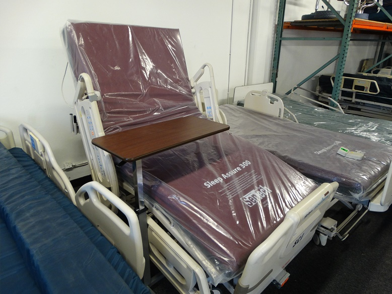 Refurbished Hill Rom Advanta P1600 hospital bed for sale 858-263-4894