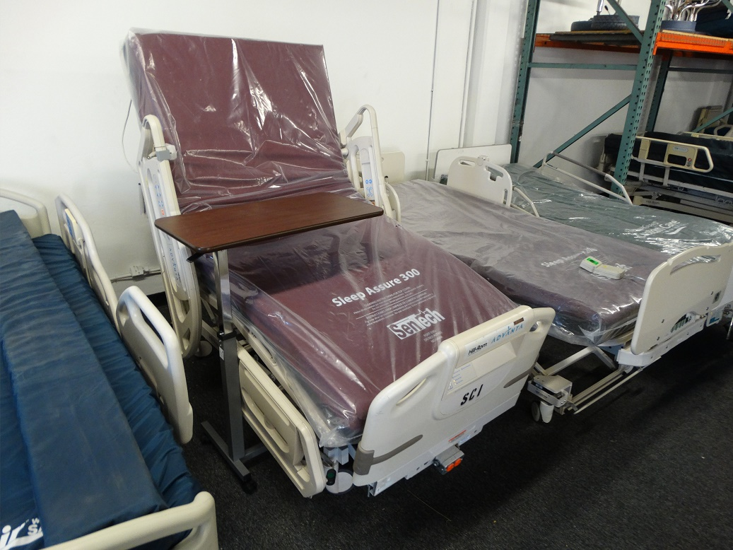 Refurbished Hill Rom Advanta P1600 hospital bed