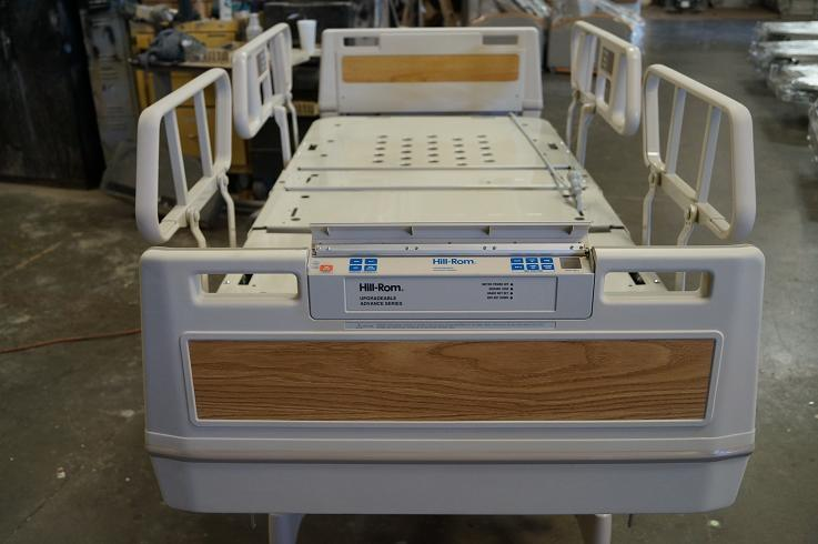 Refurbished Hill Rom Advance Series Hospital Beds for sale