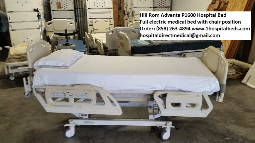 Hill Rom P1600 Advanta Bed for Sale 858-263-4894