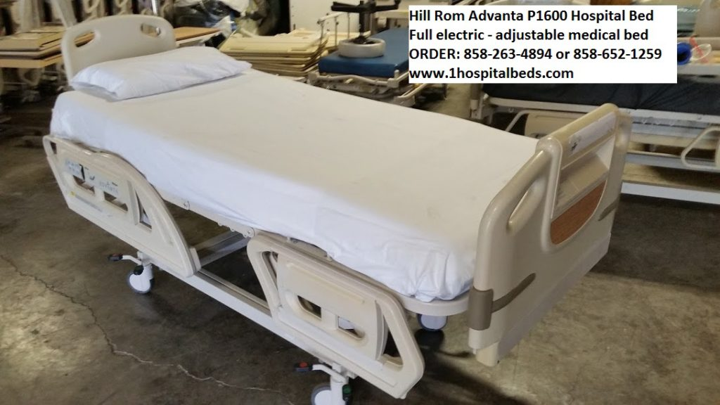 Hill Rom P1600 Advanta Hospital Bed for Sale