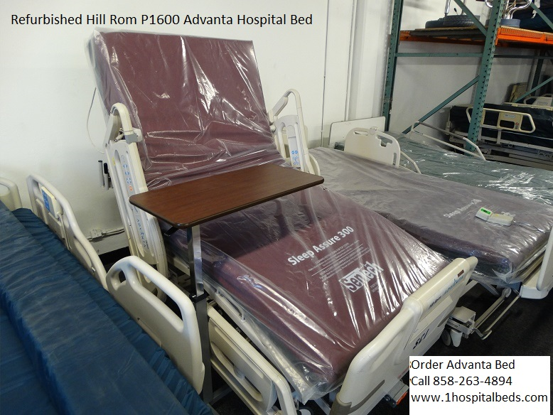 Refurbished Hill Rom P1600 Advanta hospital bed