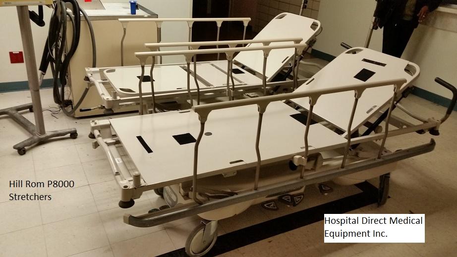 Hill Rom P8000 transport stretchers