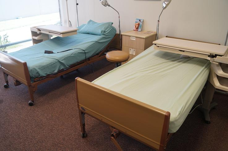 1 Invacare home electric hospital beds for sale 858 731 7278