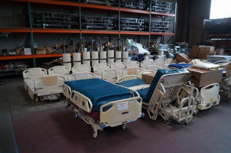 Refurbished TotalCare Hospital beds for sale San Diego