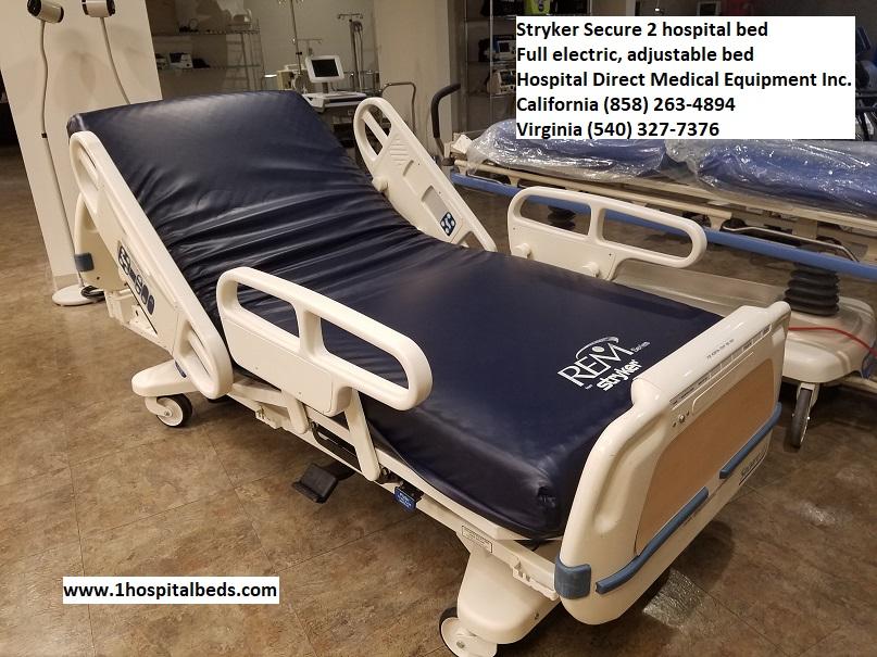 Stryker Secure 2 Hospital Bed Hospital Beds