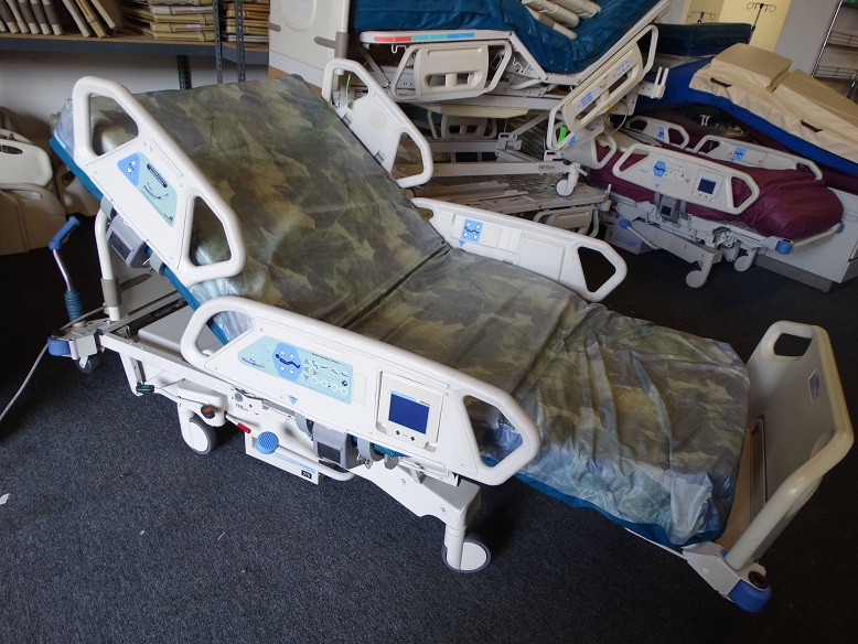Hill Rom TotalCare Bariatric Hospital Bed 1