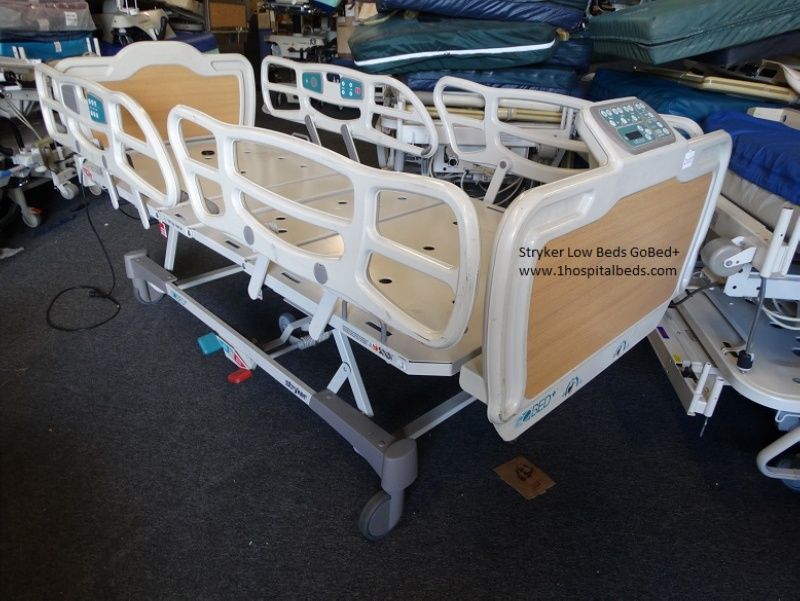 Low Hospital Bed for sale Stryker low bed Go Plus