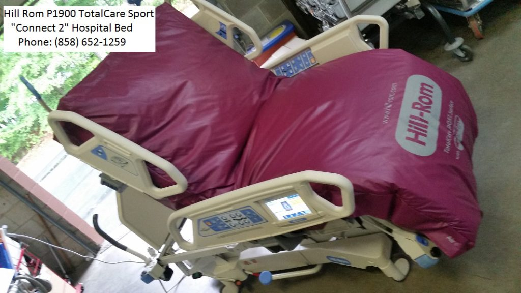 Hill Rom P1900 TotalCare Sport Connect 2 hospital bed for sale 2