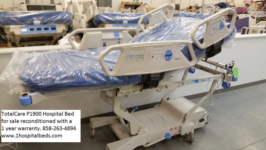 Hill Rom P1900 TotalCare bed reconditioned with 1 year warranty