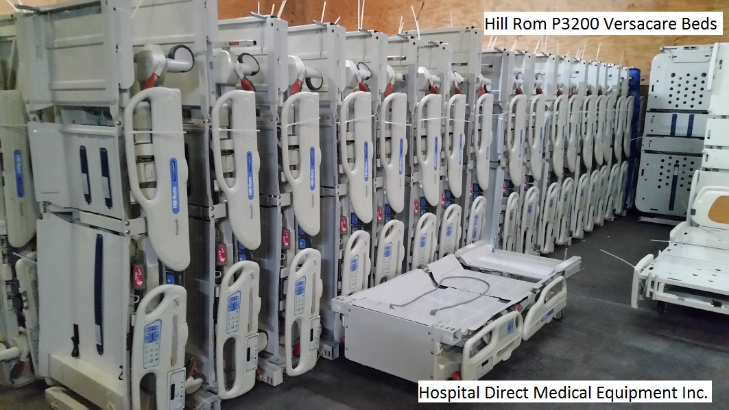 Hill Rom P3200 Versacare Hospital Beds refurbished