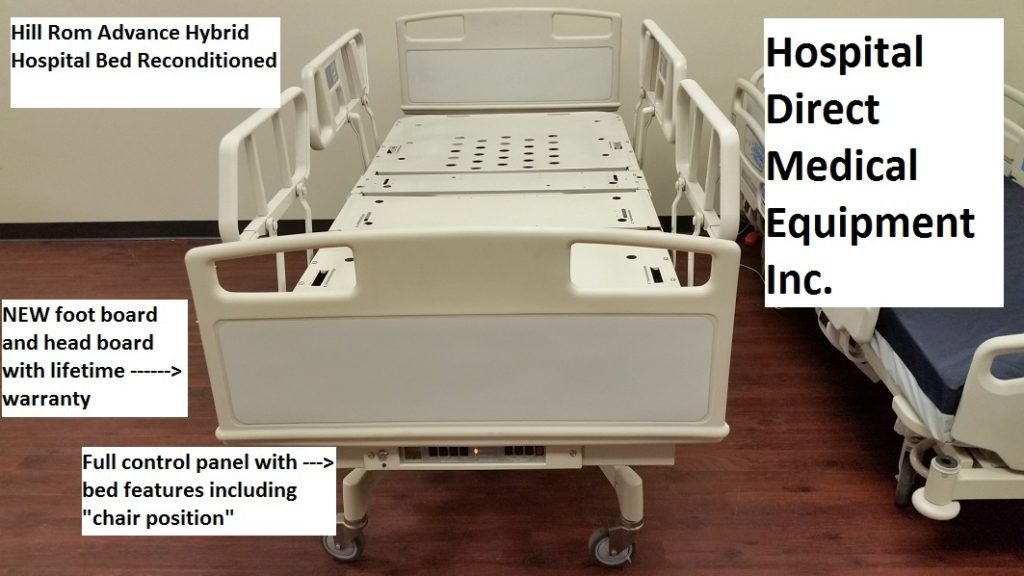 Reconditioned Hill Rom Advance Series Hospital Bed 3