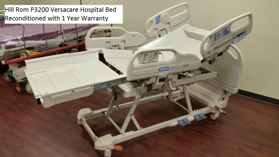Reconditioned Hill Rom P3200 Versacare hospital bed