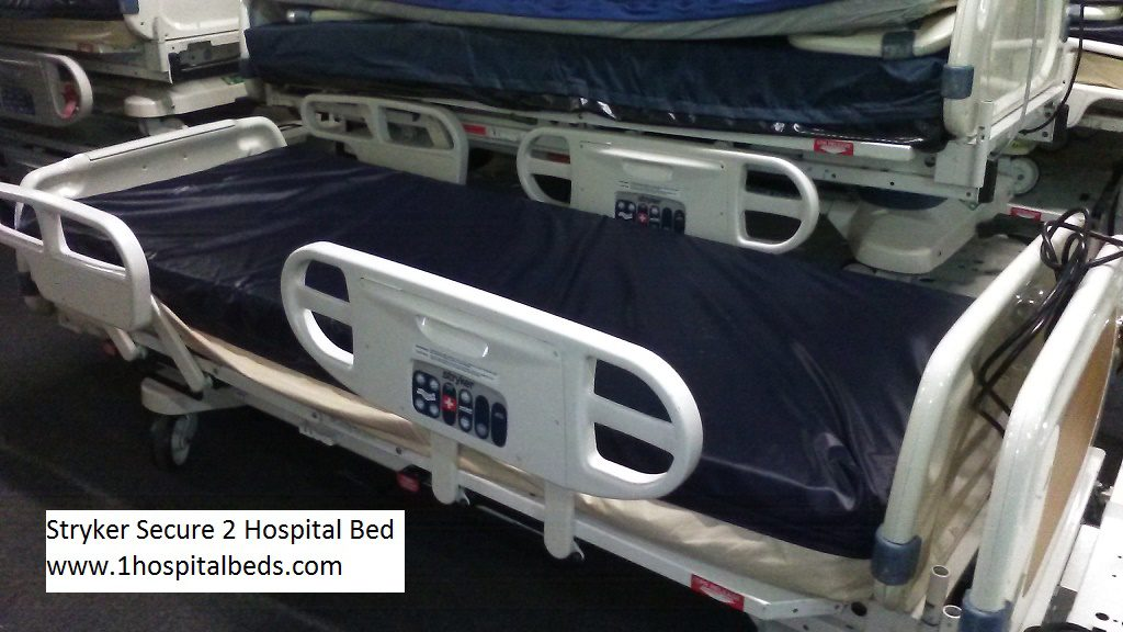 Stryker Secure 2 hospital bed for sale 2