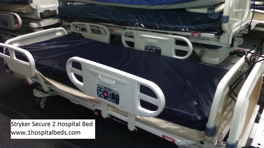 refurbished hill rom p1900 totalcare treatment and sport bed models stryker secure 2 hospital bed for sale 2