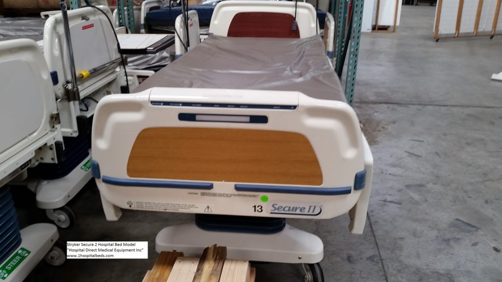 Stryker Secure 2 hospital bed for sale 4