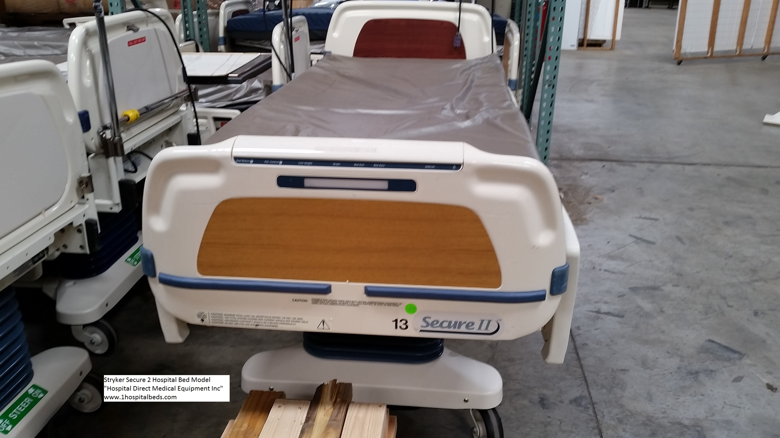 refurbished hill rom p1900 totalcare treatment and sport bed models stryker secure 2 hospital bed for sale 2 stryker secure 2 hospital bed for sale 4