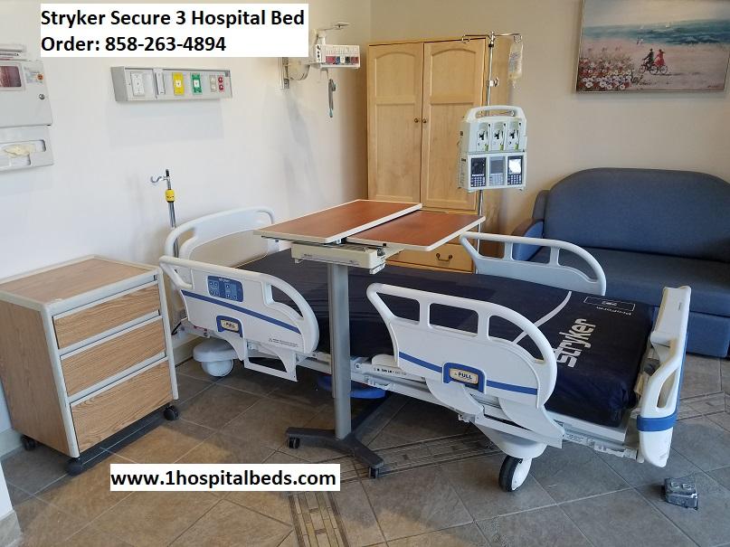 Stryker Secure 3 Bed – Hospital Beds