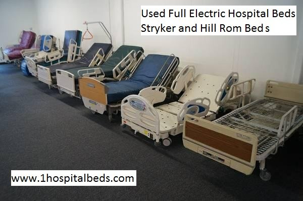 Used hospital beds for sale Stryker and Hill Rom beds