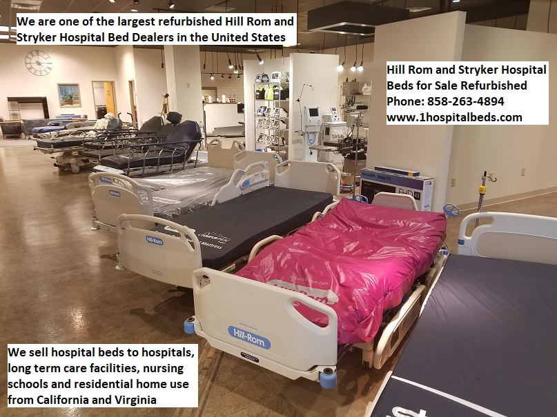 Hill Rom and Stryker hospital bed dealer