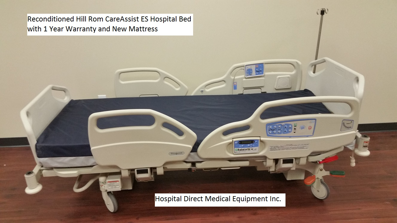 Ambassador 1200 bariatric hospital bed hospital beds - Reconditioned Hill Rom Careassist Es Hospital Bed 3
