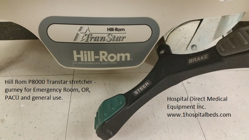 Hill Rom P8000 Transtar stretcher brakes / braking pedals