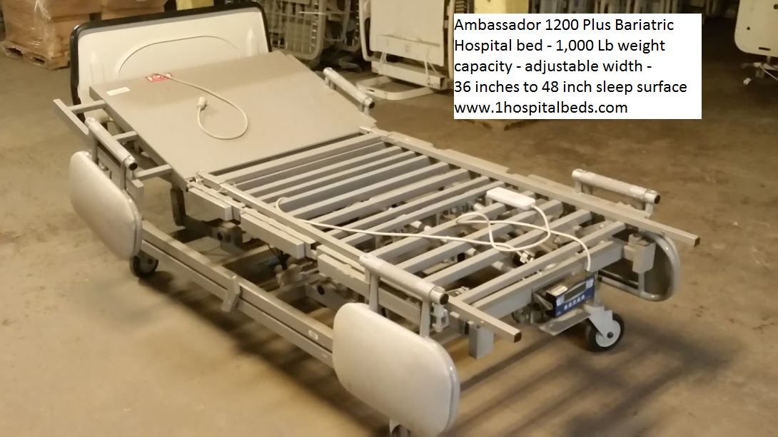 Ambassador 1200 Bariatric Hospital Bed for sale 11