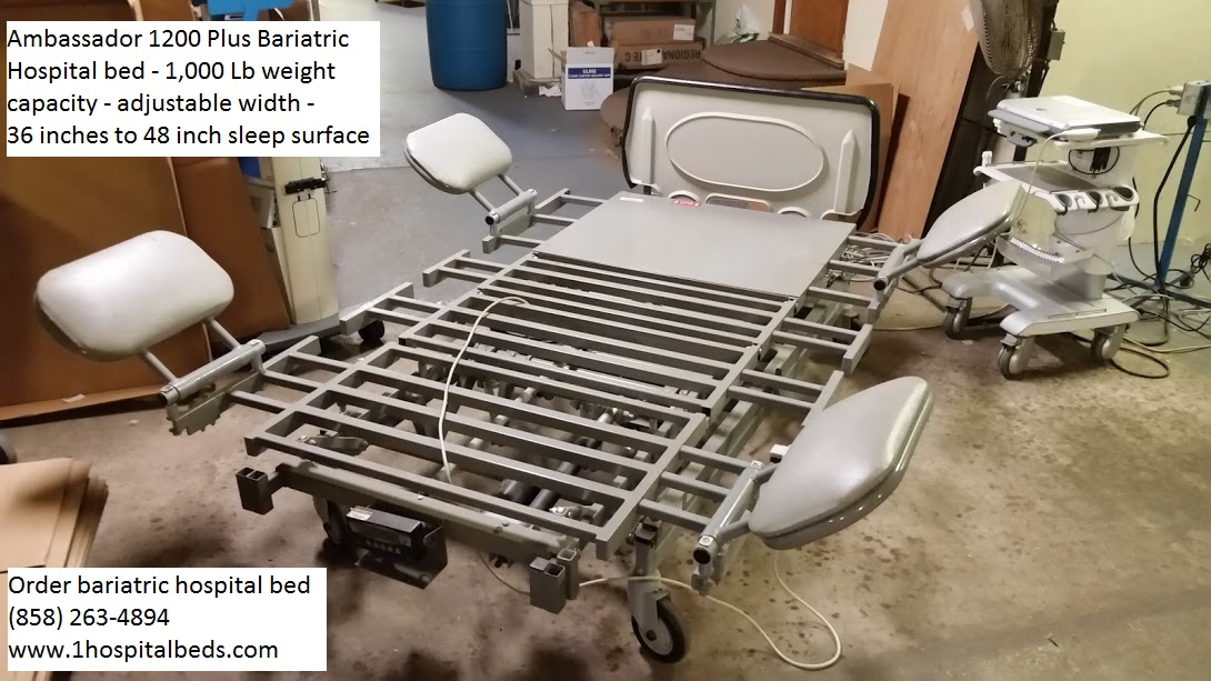 Ambassador 1200 Bariatric Hospital Bed for sale 7