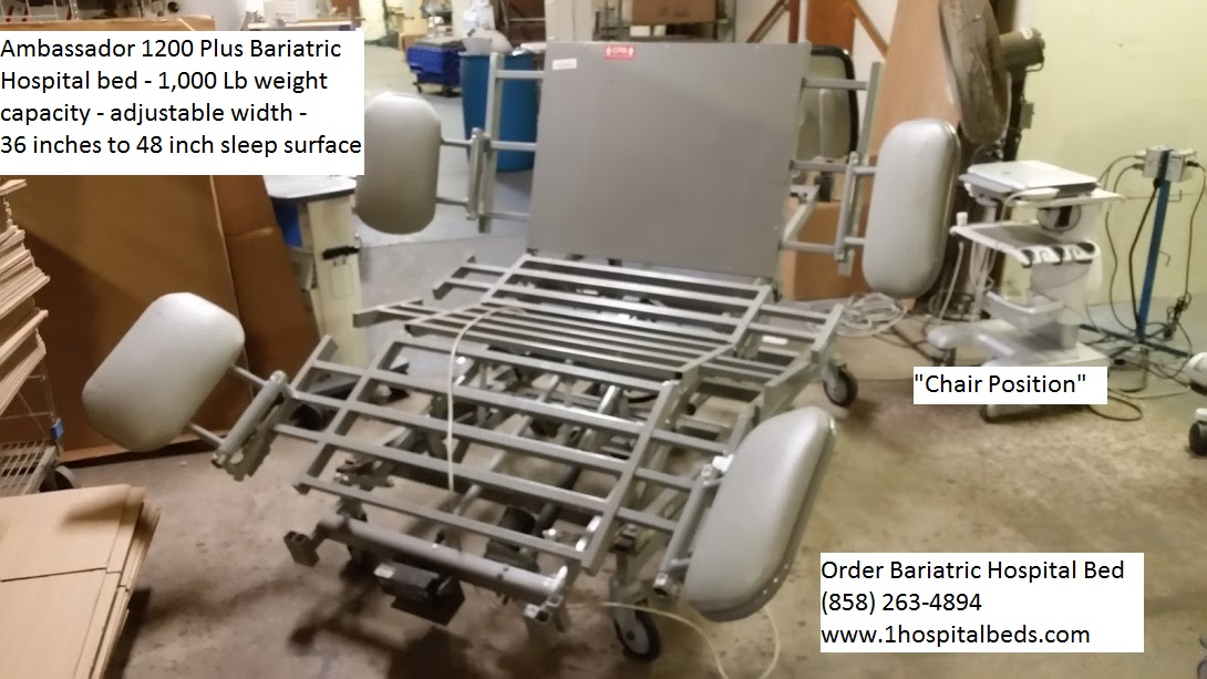 Ambassador 1200 Bariatric Hospital Bed for sale 9