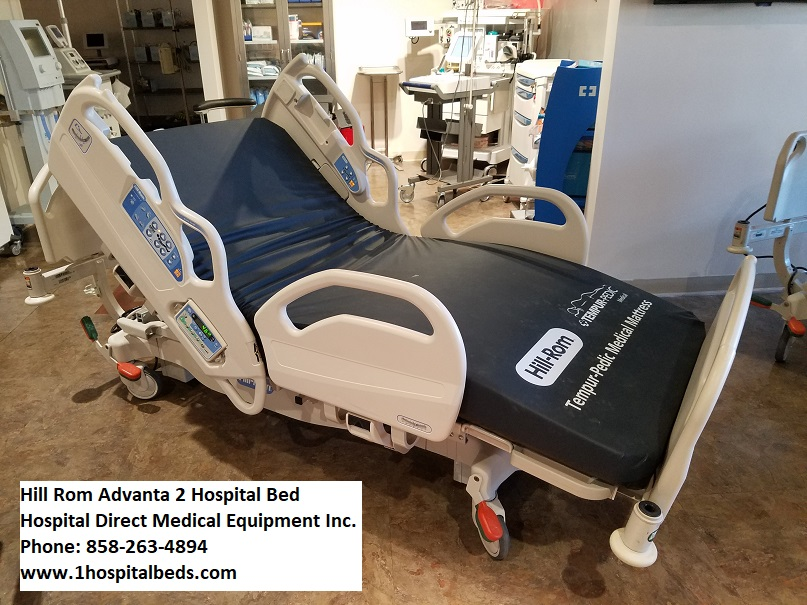 Hill Rom Advanta 2 hospital bed for sale 858-263-4894