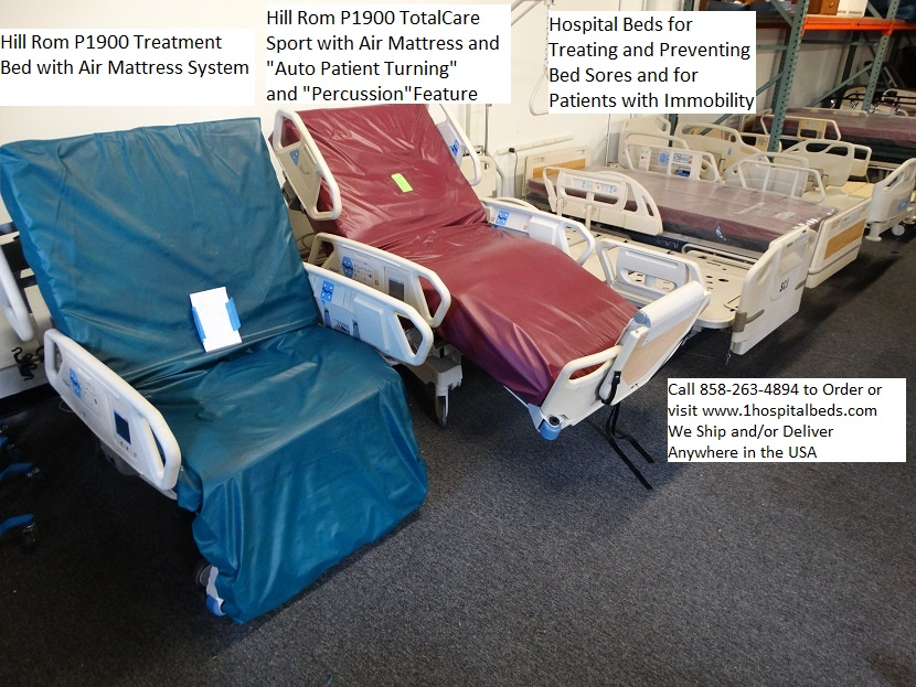 Hill Rom P1900 Treatment Bed TotalCare Sport Hospital beds