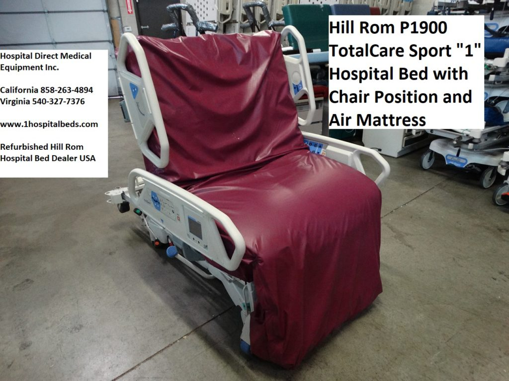 Hill Rom P1900 TotalCare Sport Bed