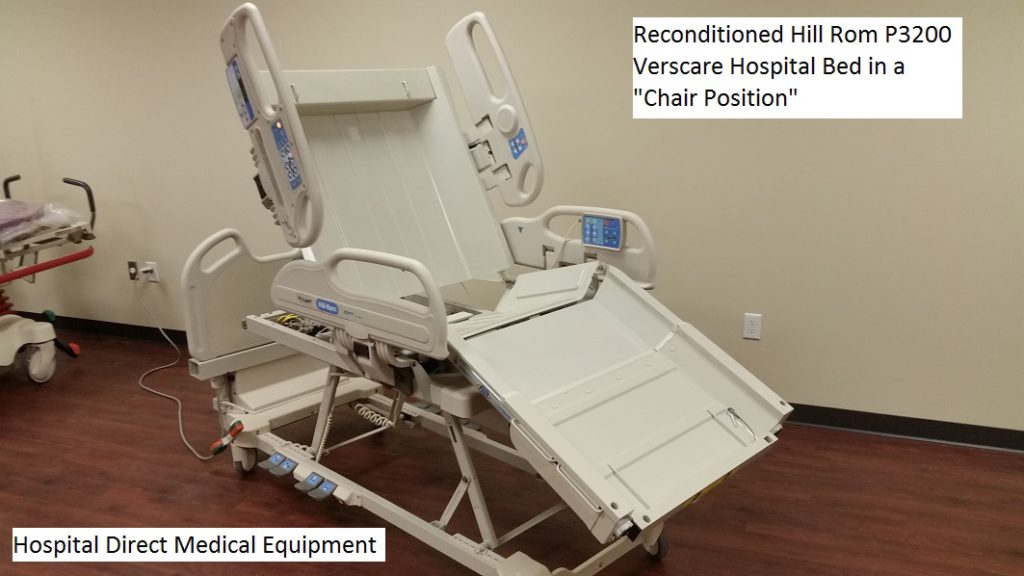 Reconditioned Hill Rom P3200 Verscare Hospital Bed